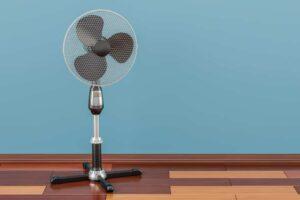 ventilateur ordinaire et silencieux